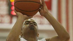 Stony Brook Seawolves guard Carson Puriefoy shoots from