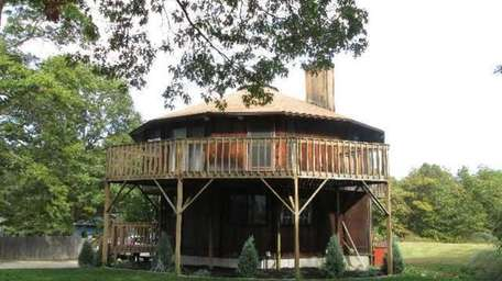 This round home in Medford is on the
