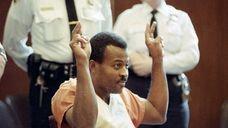 This Dec. 9, 1994 photo shows LIRR gunman