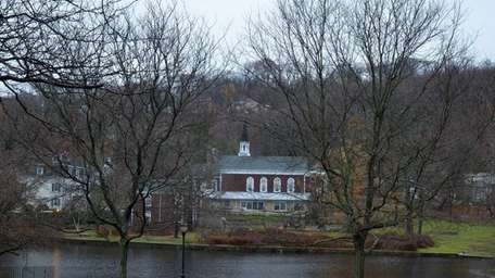 Gerry Pond Park, in the heart of Roslyn,