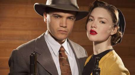 Emile Hirsch, left, and Holliday Grainger play the