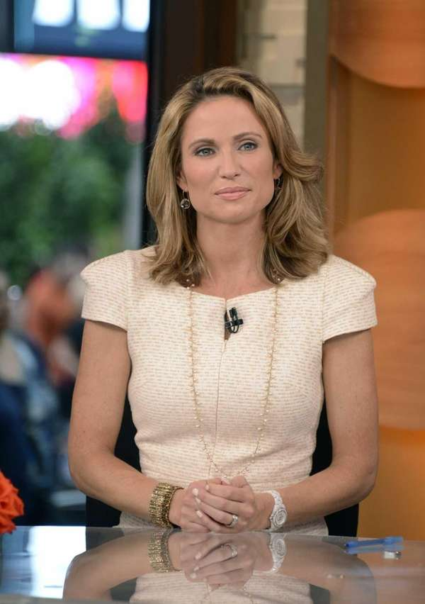 "Amy Robach on the set of ""Good"