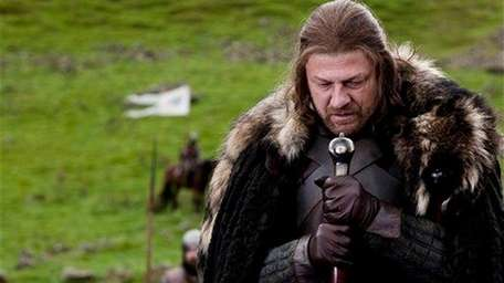Sean Bean portrays Lord Eddard