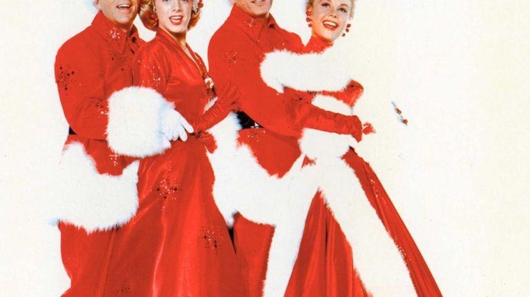 Bing Crosby, Rosemary Clooney, Danny Kaye and Vera-Ellen