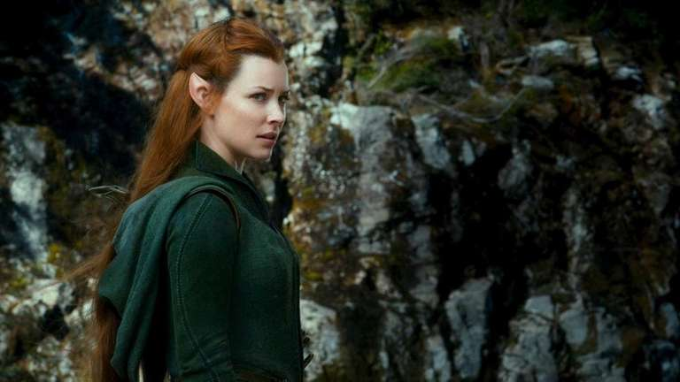 Evangeline Lilly as Tauriel in New Line Cinema's