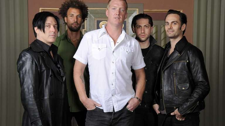 Queens of the Stone Age members, from left,