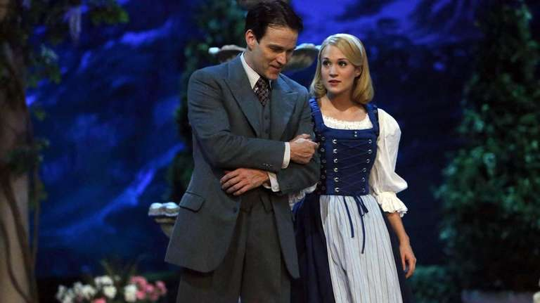 Stephen Moyer as Captain Von Trapp and Carrie