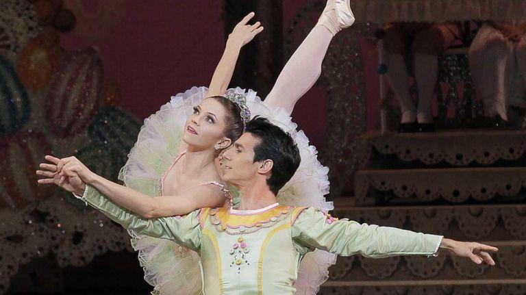 New York City Ballet's Megan Fairchild as The