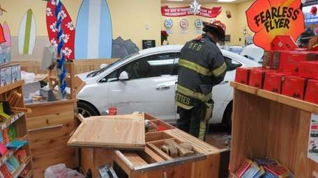 An Oceanside fire official at the scene after