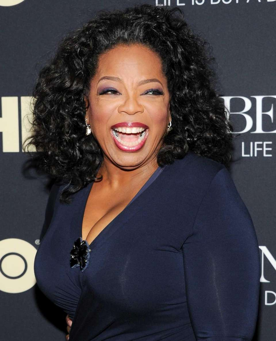 Oprah Winfrey, born Jan. 29.
