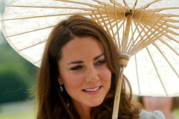 Kate Middleton, or Catherine, Duchess of Cambridge, born