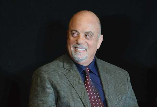 Musician Billy Joel attends Madison Square Garden's announcement