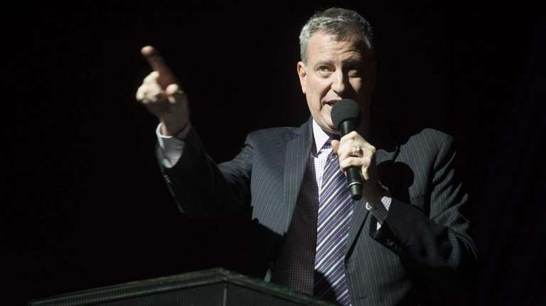 Mayor-elect Bill de Blasio reflects about the life