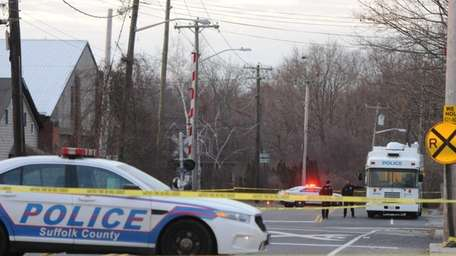 A tenant of an Eastport home was shot