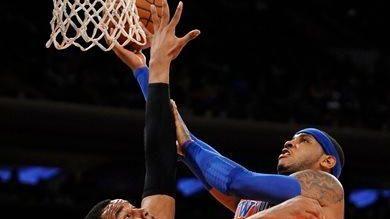 The Boston Celtics' Jared Sullinger (7) blocks the
