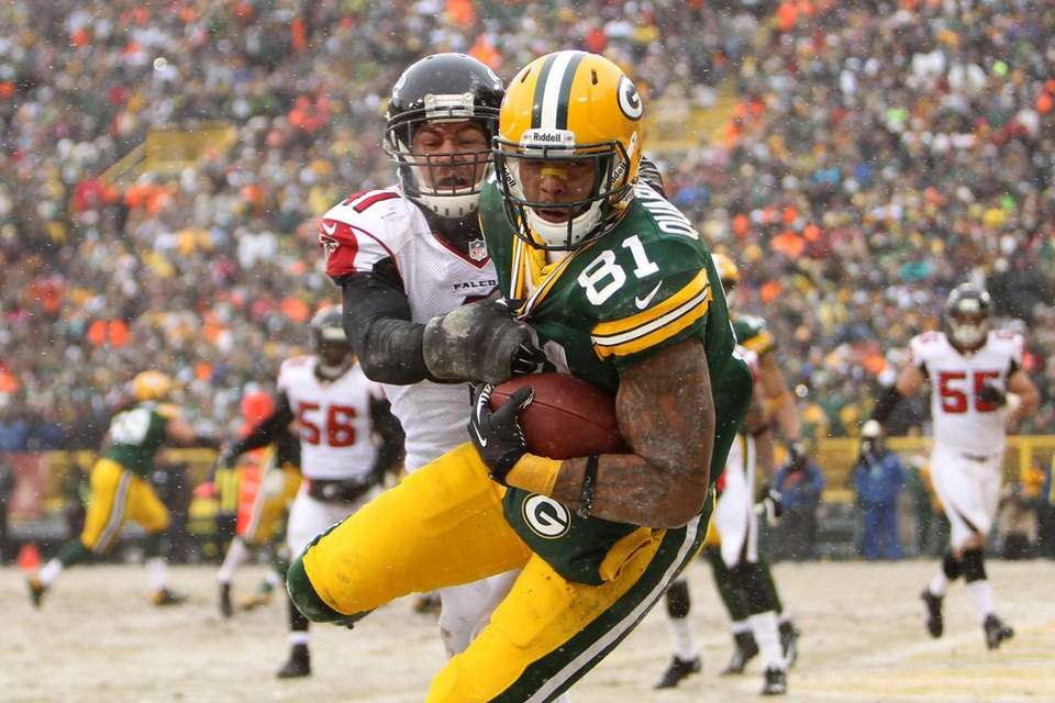 GREEN BAY, WI - DECEMBER 08: Andrew Quarless