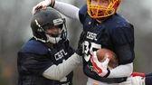 Long Island wide receiver No. 85 Jack Graffagnino,