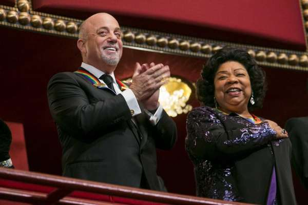 Kennedy Center Honorees Billy Joel and Martina Arroyo