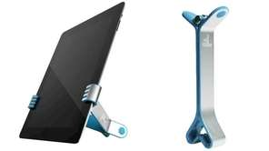 TwoHands II is a spring-loaded clip stand that
