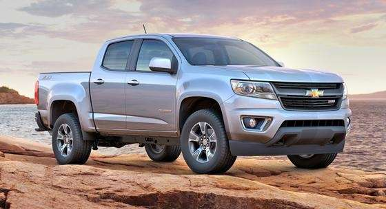 The all-new 2015 Chevrolet Colorado Z71 goes on
