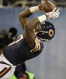 Chicago Bears wide receiver Alshon Jeffery (17) makes