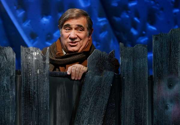"Lindenhurst native Dan Lauria in ""A Christmas Story"""