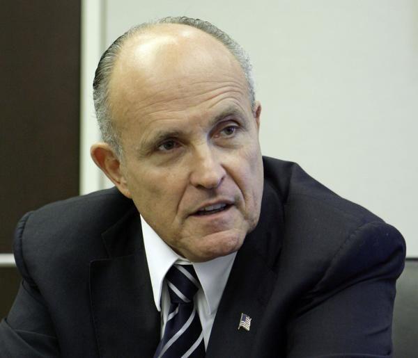 2001: New York City Mayor Rudy Giuliani