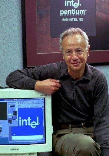 1997: Intel Corp. CEO Andy Grove