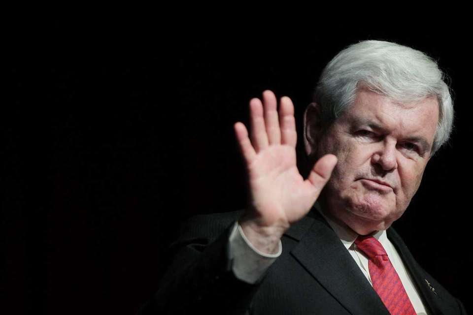 1995: Republican Speaker of the House Newt Gingrich