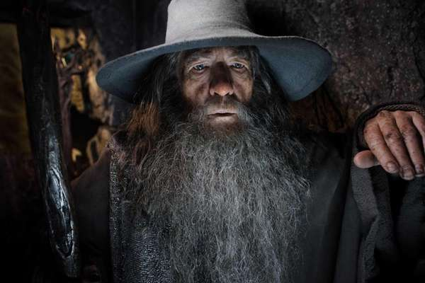 "Ian McKellen as Gandalf in ""The Hobbit: The"