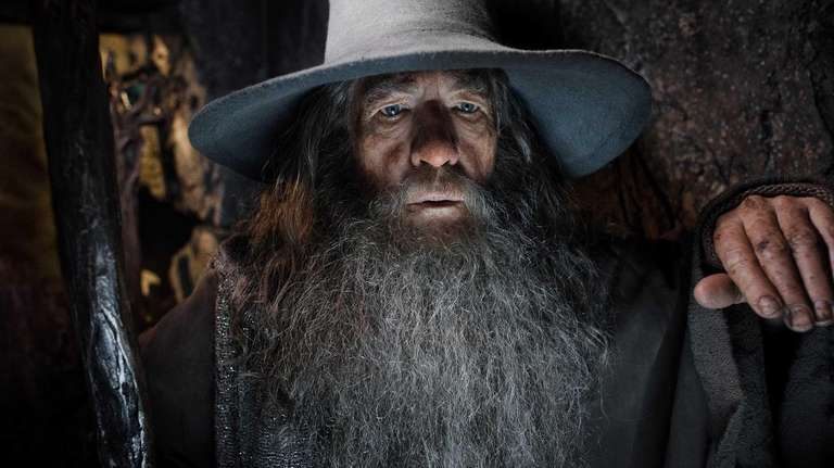 Ian McKellen as Gandalf in