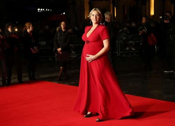 Kate Winslet arrives for the gala screening of
