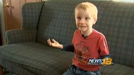 Hunter Yelton, 6, was suspended from Lincoln School