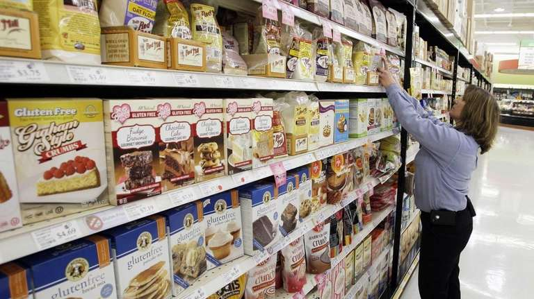 According to area nutritionists, gluten, a protein that's