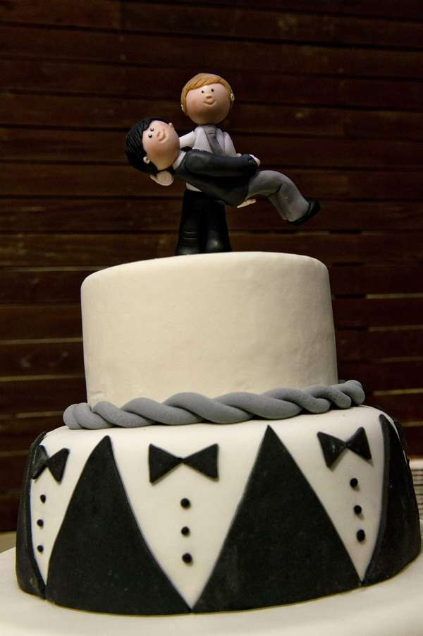 Picture of the wedding cake of Rodrigo Borda