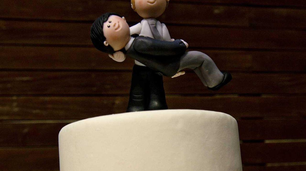 Picture of the wedding cake of Rodrigo Borda