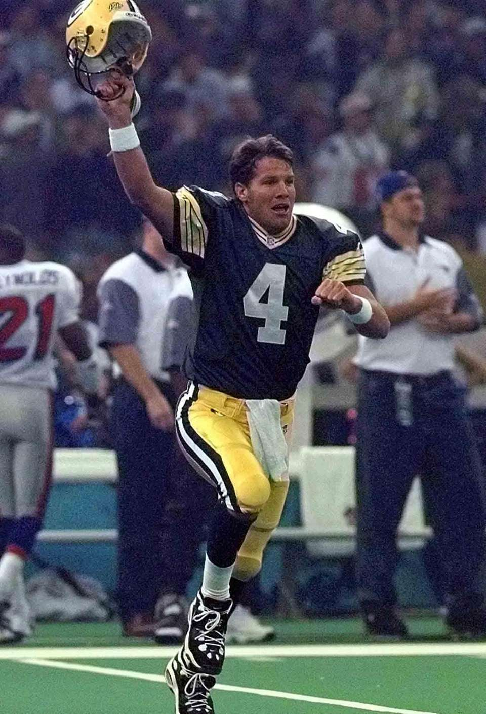 FAVRE CAUGHT PARTYING? Super Bowl XXXI Brett Favre
