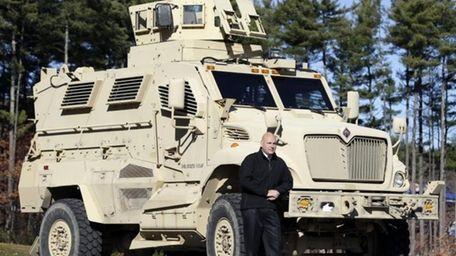 Warren County Undersheriff Shawn Lamouree poses in front
