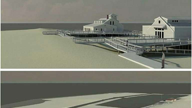 An architectural rendering for the rehab of the