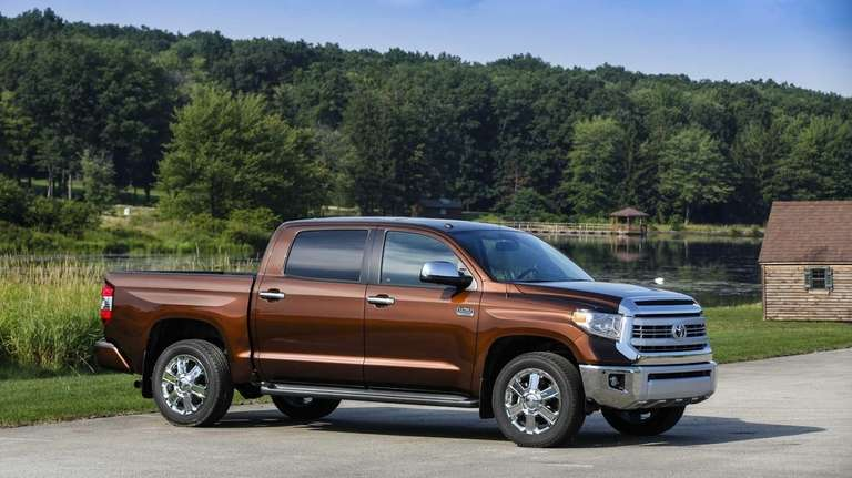 The 2014 Toyota Tundra has been fully redesigned,