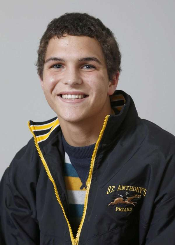 PATRICK TUCKER St. Anthony's, Junior Tucker placed eighth