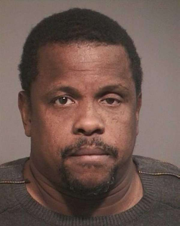 David Banks, 47, of Inglewood, Calif., was arrested