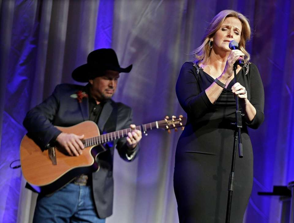 Powerhouse Trisha Yearwood, seen in 2012, (married to