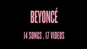 An image from Beyonce.com announcing the surprise release