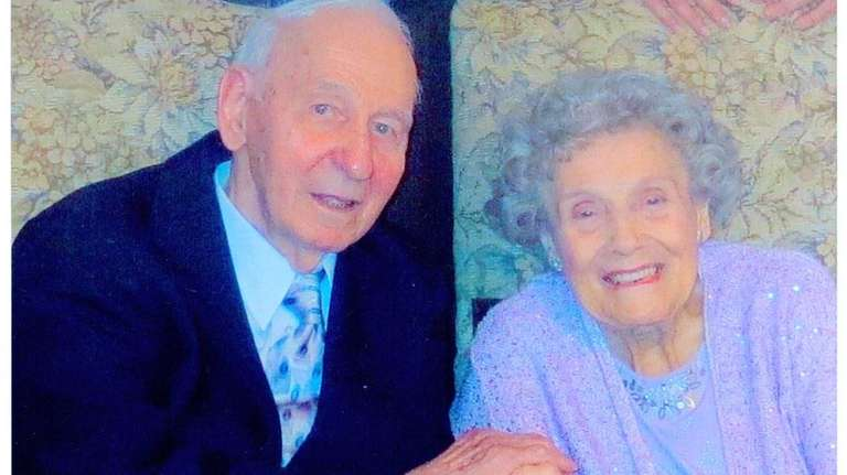 Joseph and Margaret Hegmann of Wantagh celebrated their