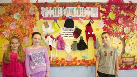 In Syosset, Berry Hill Elementary pupils recently helped