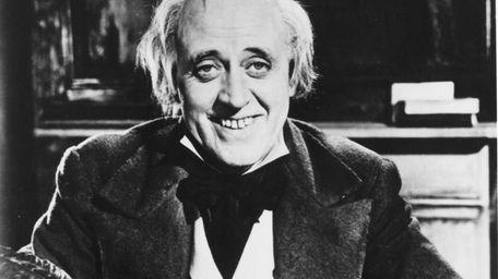 Alastair Sim as Ebenezer Scrooge in