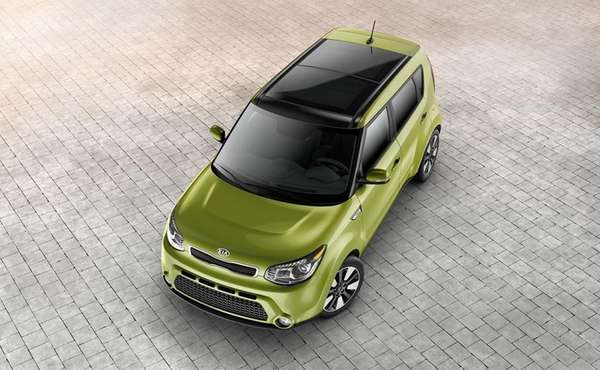 The 2014 Kia Soul, although built on a