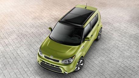 The 2014 Kia Soul, although built on a