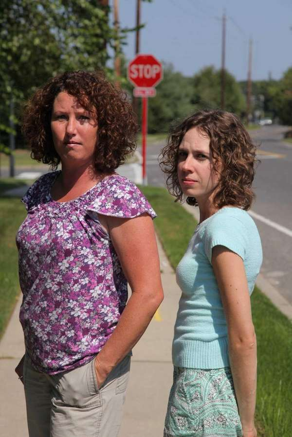 Colette Grosso, left, and Amy Stein, who both